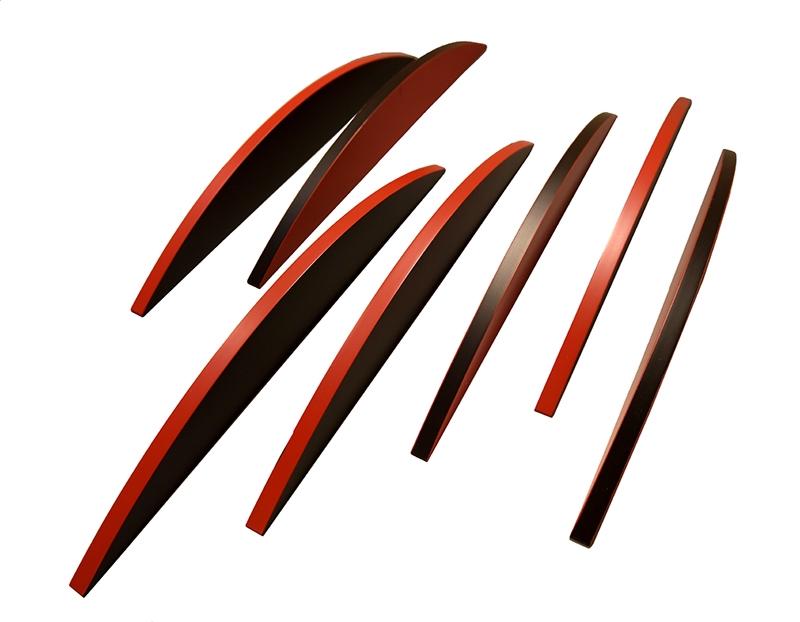 7RN-TOND acrilico su legno n. 7 elementi disposti a piacere 60x2x6 (un elemento)